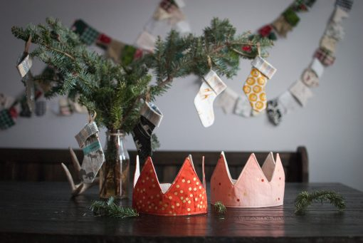 Two Christmas Crowning Glory Crowns