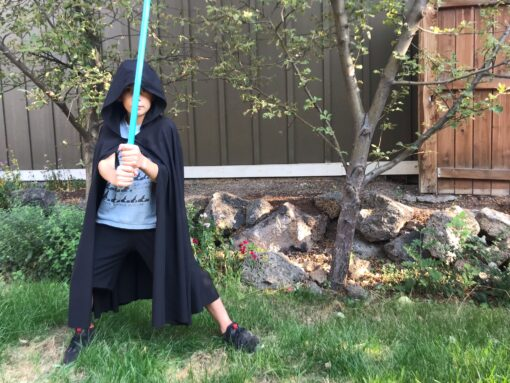 Waves and Wild Storybook Cape Jedi